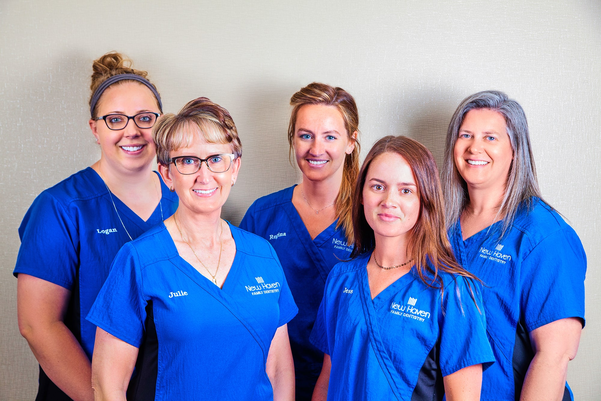 Dental assistants and hygienists at New Haven Family Dentistry